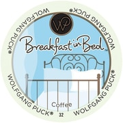 Wolfgang Puck Breakfast In Bed, RealCup portion pack for Keurig K-Cup Brewers, 48 Count (3774002)