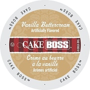 Cake Boss Coffee Vanilla Buttercream, Single Serve Cup Portion Pack for Keurig K-Cup Brewers, 48 Count (SNCB5248)