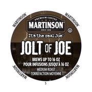 Martinson Coffee Jolt Of Joe, RealCup portion pack for Keurig K-Cup Brewers, 24 Count (4320029)