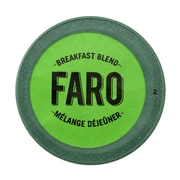 Faro Breakfast Blend Coffee, Compostable Single Serve Cup for Keurig Brewers, 48 Count (P-1051542)