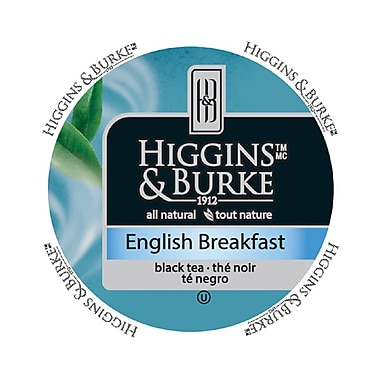 Higgins & Burke Specialty Tea English Breakfast, RealCup portion pack for Keurig K-Cup Brewers, 96 Count (3029030)