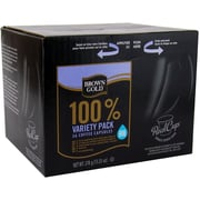 Brown Gold Coffee Variety Pack, RealCup portion pack for Keurig K-Cup Brewers, 72 Count (4330040)