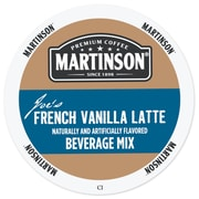 Martinson French Vanilla Latte, RealCup portion pack for Keurig K-Cup Brewers, 24 Count (4319665)