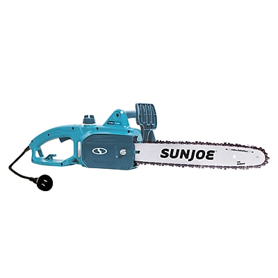 Sun Joe 14-Inch 9-Amp Electric Chain Saw, Blue (SWJ699E-BLU)
