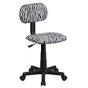 Flash Furniture Fabric Zebra Print Computer Chairs (BTZBK)