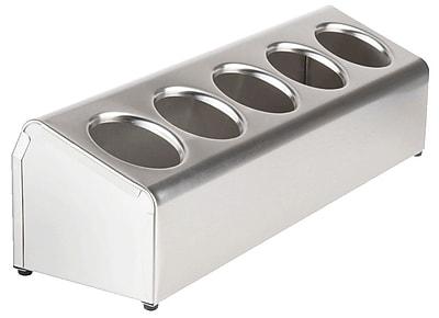 Steril-Sil Dispenser, Countertop, 5-Hole, Stainless Steel (LTC-5)