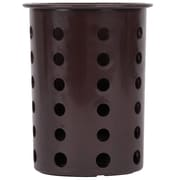 Steril-Sil Silverware Cylinder, Brown, Plastic (RP-25-BROWN)