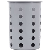 Steril-Sil Silverware Cylinder, Gray, Plastic (RP-25-GRAY)