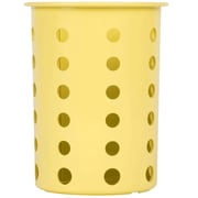 Steril-Sil Silverware Cylinder, Yellow, Plastic (RP-25-YELLOW)