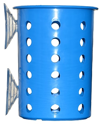 Steril-Sil Suction Cup Cylinder, Blue, Plastic (PN1-Blue)
