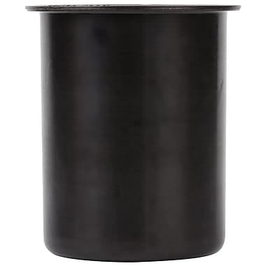 Steril-Sil Solid Container, 30 Ounce, Black, Plastic (PC-700-Black)