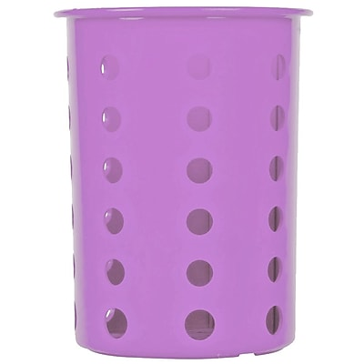 Steril-Sil Silverware Cylinder, Violet, Plastic (RP-25-Violet)