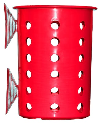 Steril-Sil Suction Cup Cylinder, Red, Plastic (PN1-RED) 24093637