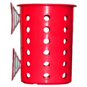 Steril-Sil Suction Cup Cylinder, Red, Plastic (PN1-RED)
