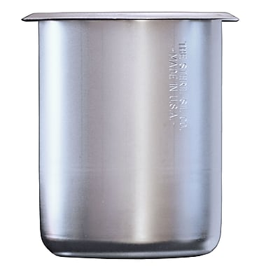 Steril-Sil Solid Container, 30 Ounce, Stainless Steel (SC-750)
