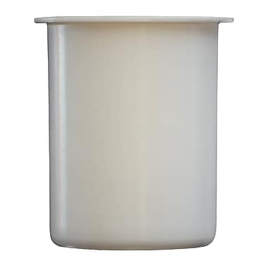 Steril-Sil Solid Container, 30 Ounce, White, Plastic (PC-700-White)