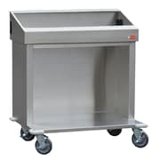"Steril-Sil Cart, 36"", Interchangable Pan Size Configuration, Stainless-Steel (CRT36-5TP)"