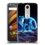 "OFFICIAL JONAS ""JOJOESART"" JODICKE WILDLIFE Ice Fox Soft Gel Case for DROID Turbo 2 / X Force (C_1C3_1DBD0)"