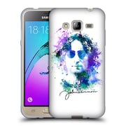 OFFICIAL JOHN LENNON VECTOR City Soft Gel Case for Apple iPhone 5c (C_E_1ABF9)