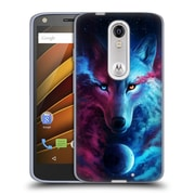 "OFFICIAL JONAS ""JOJOESART"" JODICKE WILDLIFE Wolf Galaxy Soft Gel Case for DROID Turbo 2 / X Force (C_1C3_1DBD5)"