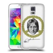OFFICIAL JOHN LENNON FAN ART Floral Peace Soft Gel Case for Samsung Galaxy S5 / S5 Neo