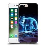 "OFFICIAL JONAS ""JOJOESART"" JODICKE WILDLIFE Ice Fox Soft Gel Case for Apple iPhone 7 Plus (C_1FA_1DBD0)"
