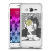 OFFICIAL JOHN LENNON KEY ART Flower Eye Soft Gel Case for Samsung Galaxy S5 / S5 Neo (C_AB_1ABF0)