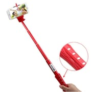 "Insten Red Selfie Stick 40"" Extendable Monopod (2124179)"