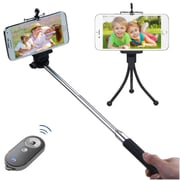 Insten Wireless 3-In-1 Mobile Phone Camera Selfie stick with Tripod Stand and Remote Shutter