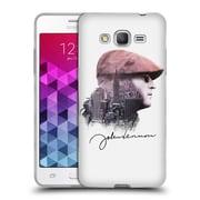 OFFICIAL JOHN LENNON KEY ART Peace Soft Gel Case for Motorola Moto G4 Play (C_1FB_1ABE5)