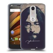 OFFICIAL JOHN LENNON FAN ART Imagine City Soft Gel Case for Apple iPhone 5c (C_E_1BA75)