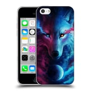 "OFFICIAL JONAS ""JOJOESART"" JODICKE WILDLIFE Wolf Galaxy Soft Gel Case for Apple iPhone 5c (C_E_1DBD5)"