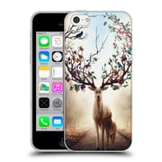 "OFFICIAL JONAS ""JOJOESART"" JODICKE WILDLIFE Seasons Soft Gel Case for Apple iPhone 5c (C_E_1DBD3)"