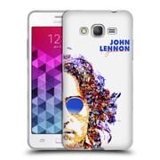 OFFICIAL JOHN LENNON KEY ART Collage Soft Gel Case for Samsung Galaxy Grand Prime