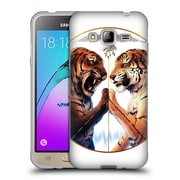 "OFFICIAL JONAS ""JOJOESART"" JODICKE BIG CATS Peace Soft Gel Case for Samsung Galaxy J3 (C_1B6_1DBBF)"