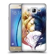 "OFFICIAL JONAS ""JOJOESART"" JODICKE BIG CATS Day And Night Soft Gel Case for Samsung Galaxy On5 (C_1B7_1DBB8)"