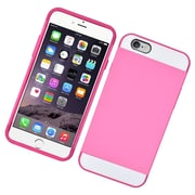 Insten Hard Dual Layer Hybrid Case For Apple iPhone 6/6s - Pink/White