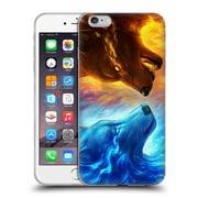 "OFFICIAL JONAS ""JOJOESART"" JODICKE WILDLIFE Fire And Ice Soft Gel Case for Apple iPhone 6 Plus / 6s Plus (C_10_1DBCC)"