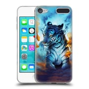 "OFFICIAL JONAS ""JOJOESART"" JODICKE BIG CATS Tiger Fish Soft Gel Case for Apple iPod Touch 6G 6th Gen (C_157_1DBC0)"