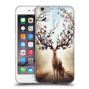 "OFFICIAL JONAS ""JOJOESART"" JODICKE WILDLIFE Seasons Soft Gel Case for Apple iPhone 6 Plus / 6s Plus (C_10_1DBD3)"