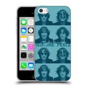 OFFICIAL JOHN LENNON KEY ART Sketch Soft Gel Case for Apple iPhone 5c (C_E_1ABEF)