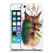 "OFFICIAL JONAS ""JOJOESART"" JODICKE WILDLIFE Fox Coloured Soft Gel Case for Apple iPhone 5 / 5s / SE (C_D_1DBCF)"