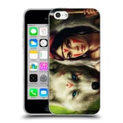 "OFFICIAL JONAS ""JOJOESART"" JODICKE FICTION Princess Mononoke Soft Gel Case for Apple iPhone 5c (C_E_1DBC5)"