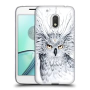 "OFFICIAL JONAS ""JOJOESART"" JODICKE WILDLIFE Owl Soft Gel Case for Motorola Moto G4 Play (C_1FB_1DBD2)"