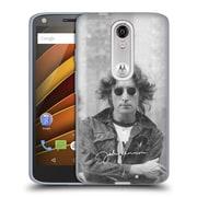 OFFICIAL JOHN LENNON KEY ART City Line Soft Gel Case for Samsung Galaxy J3 (C_1B6_1ABEC)