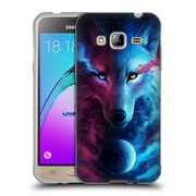 "OFFICIAL JONAS ""JOJOESART"" JODICKE WILDLIFE Wolf Galaxy Soft Gel Case for Samsung Galaxy J3 (C_1B6_1DBD5)"