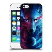"OFFICIAL JONAS ""JOJOESART"" JODICKE WILDLIFE Wolf Galaxy Soft Gel Case for Apple iPhone 5 / 5s / SE (C_D_1DBD5)"