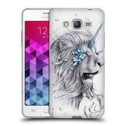 "OFFICIAL JONAS ""JOJOESART"" JODICKE BIG CATS Lion Soul Soft Gel Case for Samsung Galaxy Grand Prime (C_B5_1DBBE)"