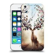 "OFFICIAL JONAS ""JOJOESART"" JODICKE WILDLIFE Seasons Soft Gel Case for Apple iPhone 5 / 5s / SE (C_D_1DBD3)"