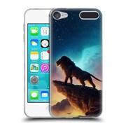 "OFFICIAL JONAS ""JOJOESART"" JODICKE BIG CATS Free Like A Bird Soft Gel Case for Apple iPod Touch 6G 6th Gen (C_157_1DBBB)"